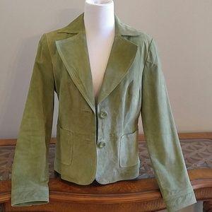 Pretty Green Suede Jacket